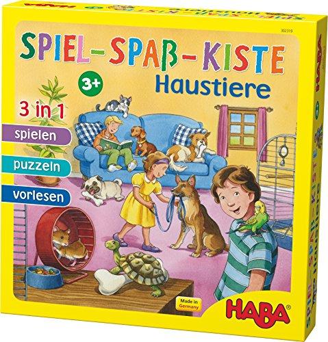 HABA 302319 - Spiel-Spaß-Kiste Haustiere