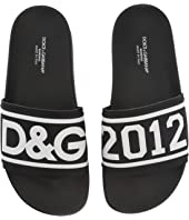 Dolce & Gabbana Kids - Logo Slide (Big Kid)