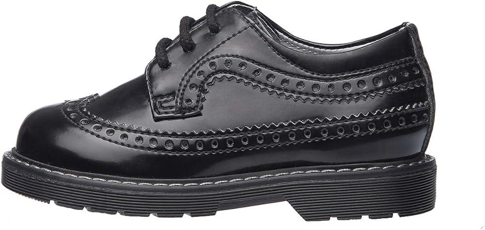 nero giardini scarpe da bambino stringate in  pelle a923750m-100-20