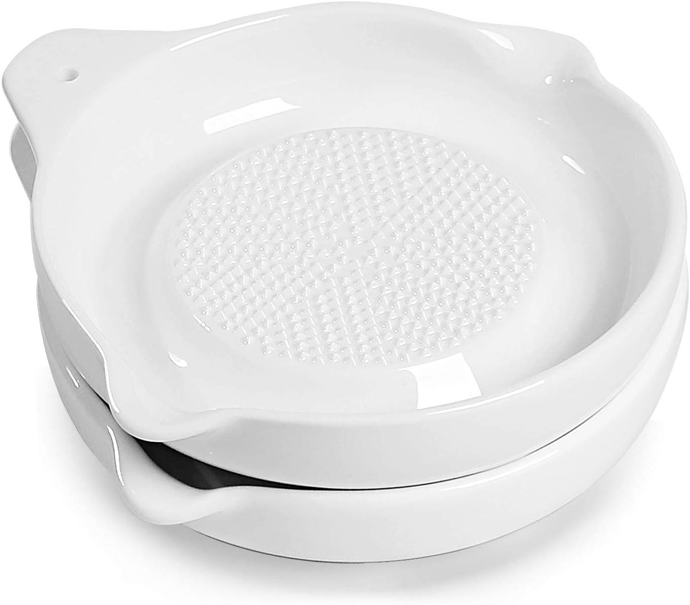 ONTUBE Porcelain Utensil depot Spoon Rest Plate security for Gi Ceramics Grater