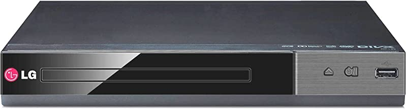 Lg DP-132 All Multi Region Free DVD Player with USB Input Plays PAL/NTSC DVDs From All Countries and Regions 0-9, With Remote
