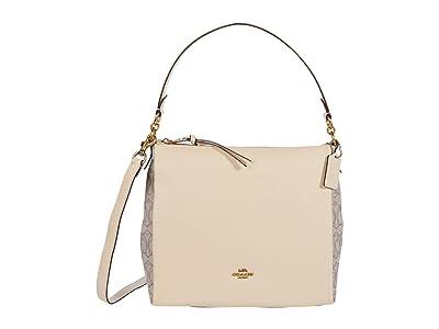 COACH Signature Jacquard Shay Shoulder Bag