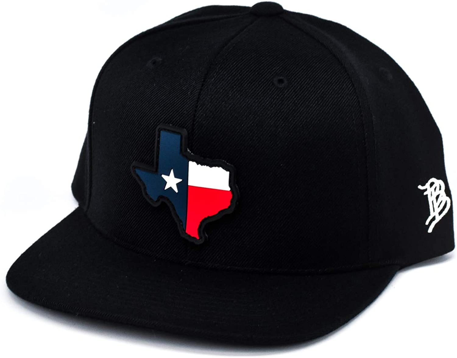 Branded Bills 'The 28 Rogue' Texas PVC Patch Classic Snapback Hat - One Size Fits All