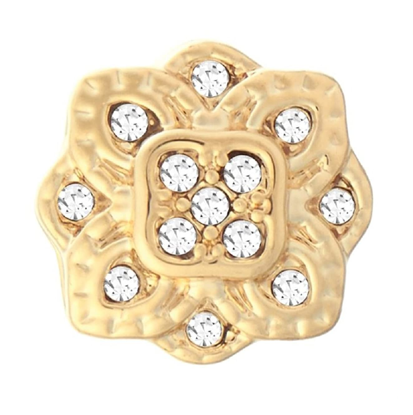 Ginger Snaps Petite (Simulated) Gold Saray GP07-48 (Petite Size) Interchangeable Jewelry Snap