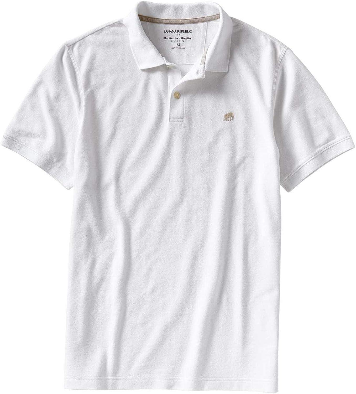 Banana Republic Factory Men's Classic Austin Cheap sale Mall Lo Fit Polo Elephant Shirt