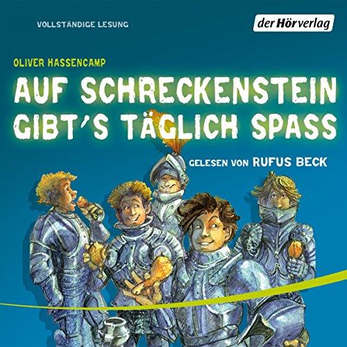 Auf Schreckenstein gibt's täglich Spass audiobook cover art