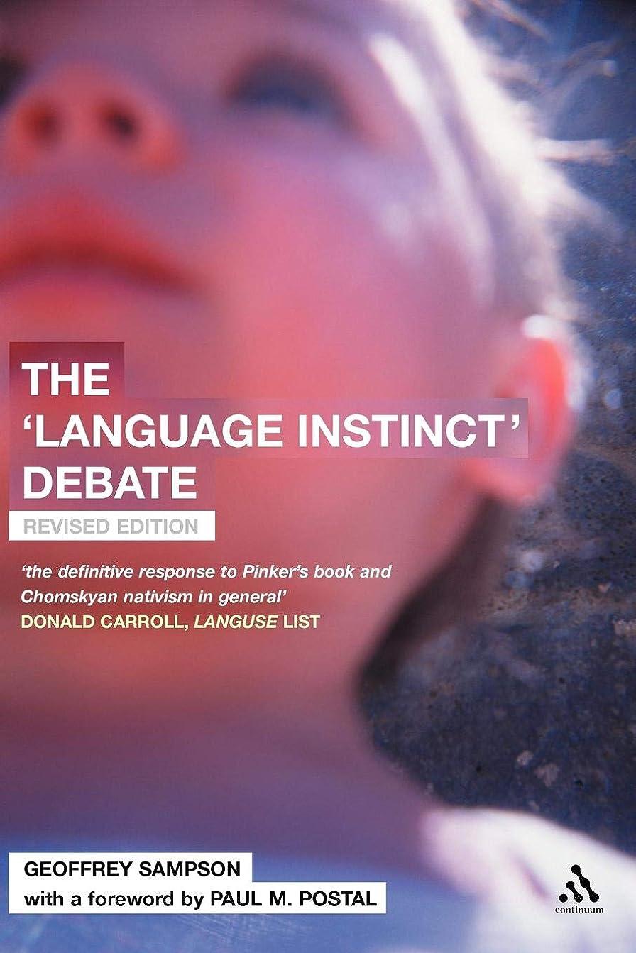 厄介な逮捕依存するThe 'Language Instinct' Debate