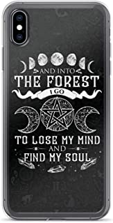 Compatible for iPhone XR Case Witch Lose My Mind and Find My Soul TPU Anti-Scratch