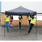 MAXIMUS® HEAVY DUTY GAZEBO 3m x 3m HIGH QUALITY GAZEBO MARKET STALL POP UP TENT (NS) [Blue*Black*Green*Beige] (Beige)