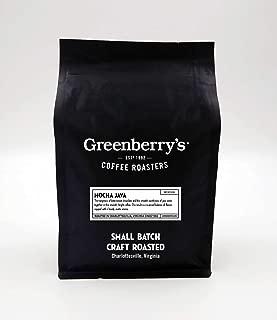Greenberry's Coffee Co. - Mocha Java Whole Bean - Bold, Fresh, 100% Arabica, Medium Roast Beans, 12 oz
