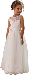sleeveless flower girl dresses