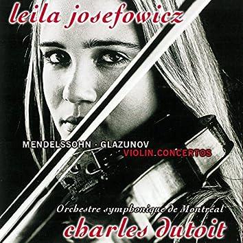 Mendelssohn & Glazunov: Violin Concertos / Tchaikovsky: Valse-Scherzo