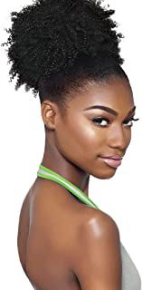 Outre Synthetic Hair Ponytail Timeless Big Beautiful Hair 4C-Coily (1B)