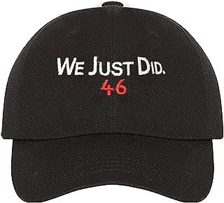YEKKU Solo hicimos 46 Sombrero Cap Biden Elección Presidente 2020, Anti MAGA Anti Trump