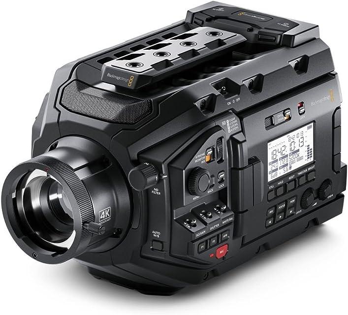 Blackmagic Design URSA Broadcast Shoulder Camcorder Negro 4K Ultra HD - Videocámara (508/3 mm (2/3) Tarjeta de Memoria CFastSD 102 cm (4) LCD Shoulder Camcorder)