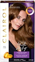 Clairol Age Defy Permanent Hair Color, 6W Light Chocolate Brown, 1 Count