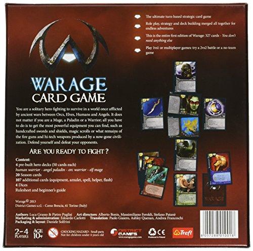 WarAge Gioco di Carte [Importato da UK]
