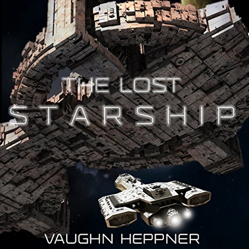 The Lost Starship audiobook cover art