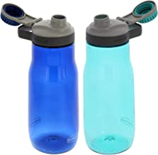 Rubbermaid Water Bottle Chug - Leak-Proof Reusable Container - Comes with Blue Ice Stick to Keep Drinks Colder Longer - BP...