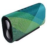 FJGLHEJG Bluetooth Altavoces portátiles 4.2 Bluetooth inalámbrico Batería de Gran Capacidad Portátil Doble Altavoz Mini Tarjeta Sobrepeso subwoofer bocina Bluetooth (Color : Green)