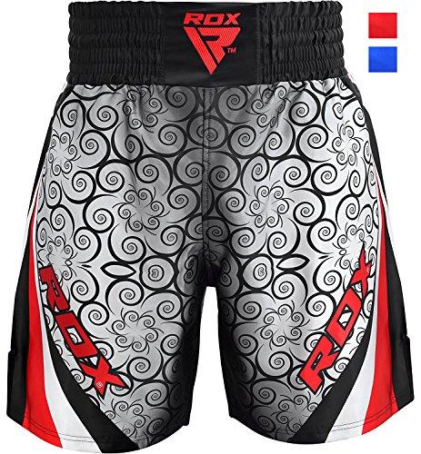 RDX Boxen Shorts Training | Perfekt für Boxen, Freefight, Kampfsport, Kickboxen, Grappling | Fightshorts Kampfshorts für BJJ und Muay Thai (MEHRWEG)
