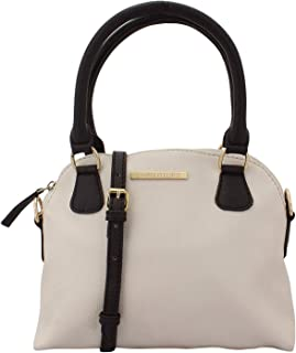 Lapis O Lupo Ivory Women's Small Handbag (Off White) Multi-functional pocket design