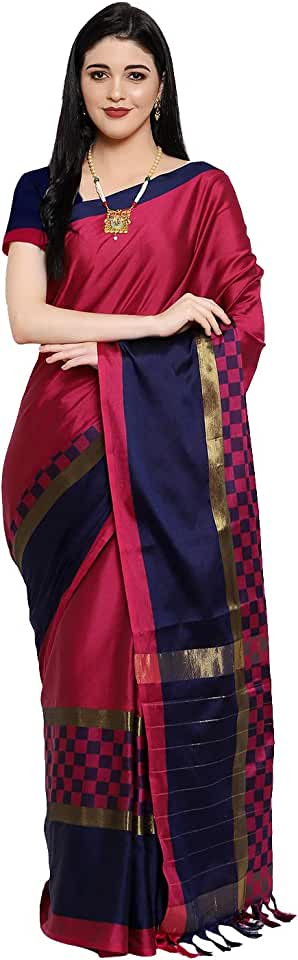 Indian OM SAI LATEST CREATION Soft Cotton & Silk Saree For Women Half Sarees Under 349 2020 Beautiful For Women saree free size w... Saree