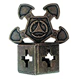 BePuzzled O'gear Hanayama Cast Metal Brain Teaser Puzzle (Level 3) Puzzles For Kids & Adults Ages 12 & Up
