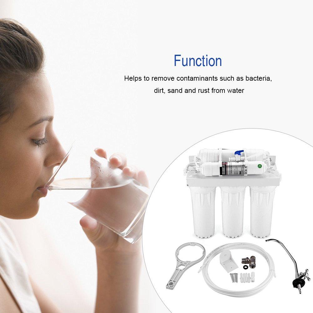 Purificador de Agua Potable de 5 Etapas Sistema de Filtro de Agua ...