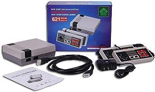 Mini console Retro Classic ,Sortie HDMI- fournie avec deux poignées de commande - 621 jeux vidéo classiques intégrés