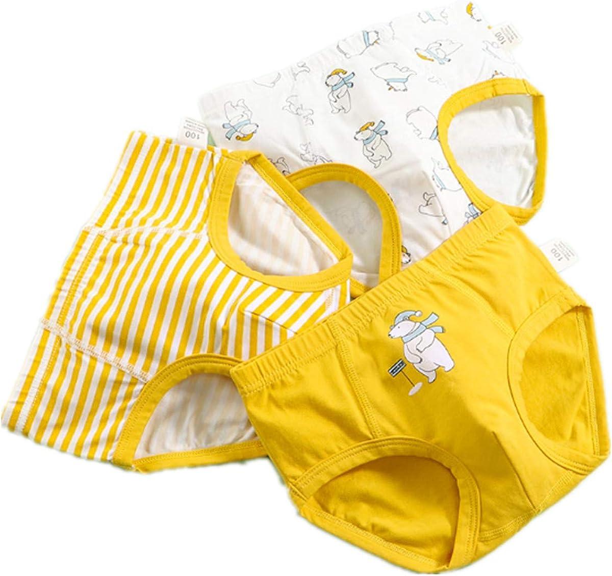 FOFJR Baby Soft Cotton Underwear Little Boys Briefs Undies Children Panties 3 Pack
