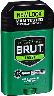 BRUT Anti-Perspirant Deodorant Stick Classic Scent 2 oz (Pack of 12)