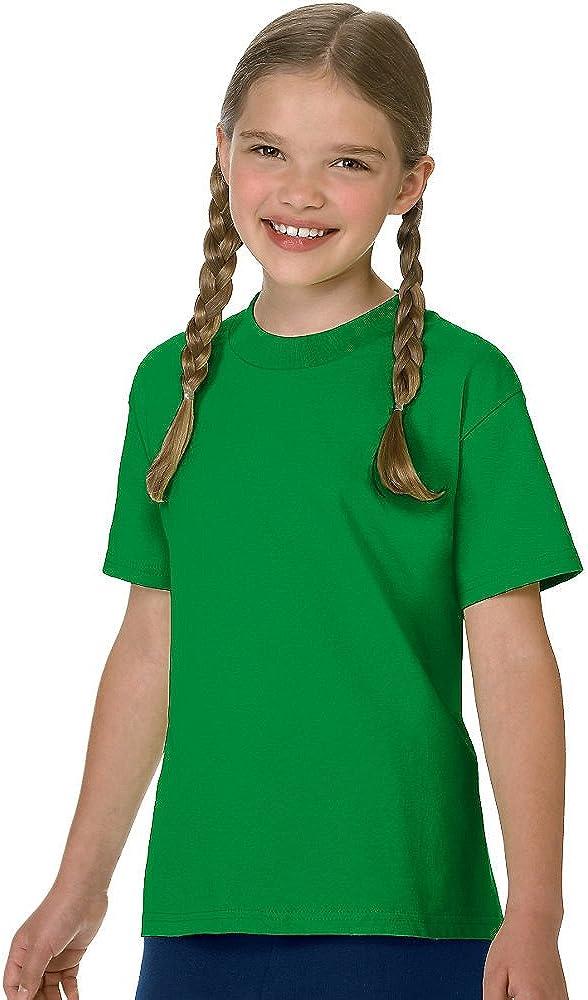 Hanes Authentic Tagless Boys' Cotton T-Shirt