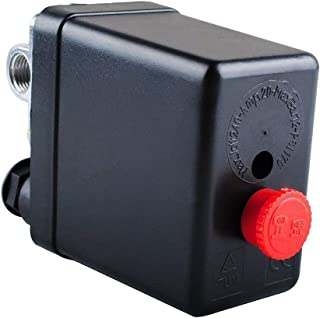 Best central pneumatic 21 gallon air compressor pressure switch Reviews