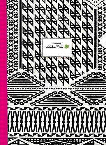 ハワイアン雑貨/ハワイ 雑貨 【マウナロア】 A4 クリアファイル (スタイリッシュタパ) 【ハワイ雑貨】【お土産】