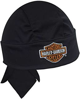 HARLEY-DAVIDSON Bar & Shield Head Wrap Black HW10830