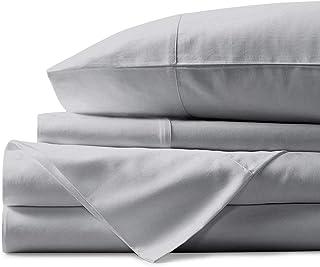 Mayfair Linen 800 Thread Count 100% Egyptian Cotton Sheets, Silver Queen Sheets Set, Long Staple Cotton, Sateen Weave for ...