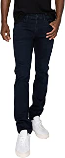 RING OF FIRE Men's 5 Pockets Slim Denim Stretch Jeans, Maelstrom, 32W x 32L