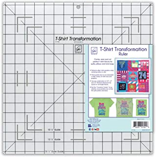 June Tailor T-Shirt Transformation Ruler, 15-1/2 by 15-1/2-Inch White