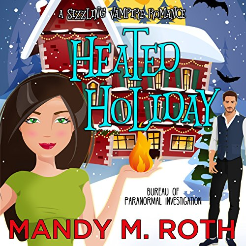 Heated Holiday audiobook cover art