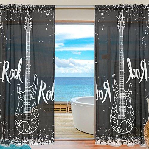 cortinas ventana musica