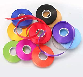 12 Colors Ribbons Ballon Double Face Curling Roll, 30 Yard Trim Embellishments Ribbon for Gift Wrapping Crafts Wedding Bir...
