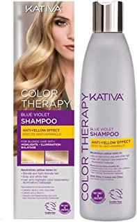 Kativa Kativa Color Therapy Blue Violet Shampoo X 250 Ml 250 ml