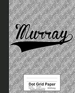 Dot Grid Paper: MURRAY Notebook (Weezag Dot Grid Paper Notebook)