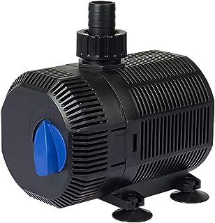 Yorbay CQB-2000 Teichpumpe Super ECO 35W 2300l/h mit 10m Stromkabel Bachlaufpumpe für Garten, Teiche, Süß- und Meerwasser...