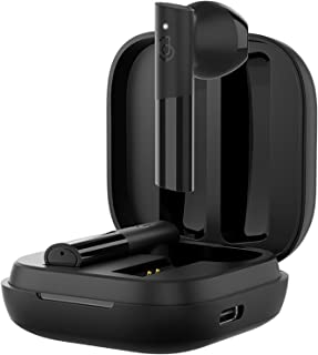 HAYLOU GT6 Auriculares inalámbricos con Bluetooth 5,2, Dispositivo de Audio de Baja latencia, Emparejamiento automático, Sonido estéreo Mono y AAC (Negro)