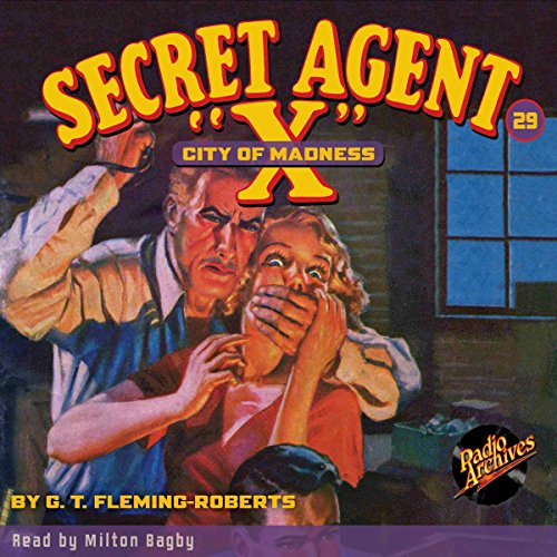 "Secret Agent ""X"" #29 audiobook cover art"