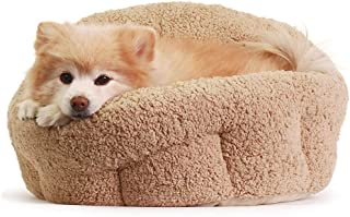 """Best Friends by Sheri OrthoComfort Deep Dish Cuddler (20x20x12"""") - Self-Warming Cat and Dog Bed Cushion for Joint-Relief a..."""