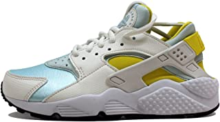 Nike, Donna, Huarache Run Sail, Pelle/Mesh, Sneakers, Bianco
