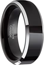 Best black and silver ring men Reviews